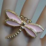 Dragonfly stretch ring $9.00