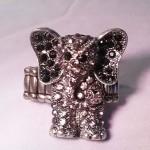 Elephant stretch ring
