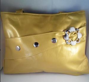 Gold flower purse $8.00