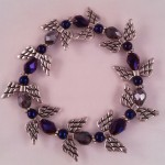 Angel bracelet (blue) $8.00