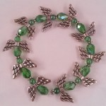 Angel bracelet (green) $8.00
