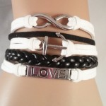 Anchor love bracelet $8.00