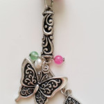 Sweet Butterfly rear view mirror hanger $17 + Shipping