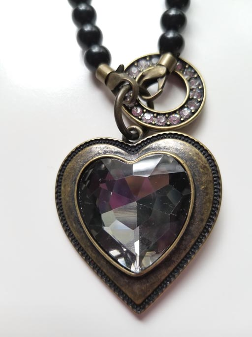 Antique Heart Purse Charm, Charm for your purse, shoulder bag charm, backpack charm, ornament